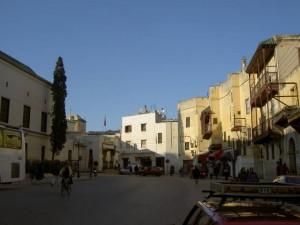 איזור הרובע היהודי בקזבלנקה