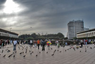 כיכר מוחמד החמישי בקזבלנקה