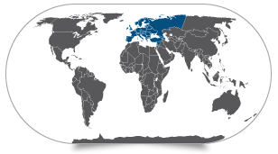 מפת אירופה